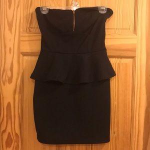Cute black mini dress